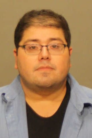 Raffaele Lapietra is charged with second-degree threatening after allegedly pointing a registered gun at his neighbor during a dispute, according to Greenwich Police.