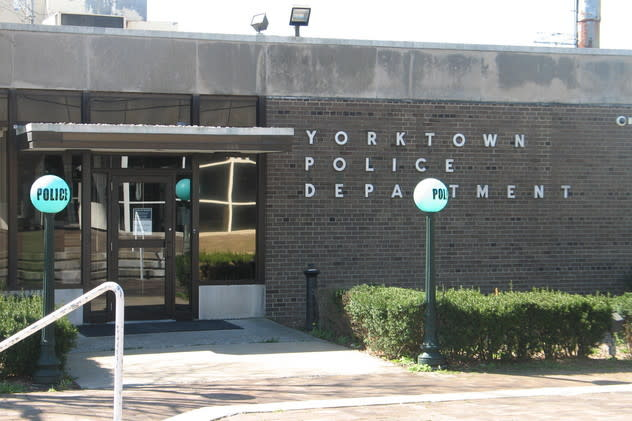 Yorktown police charged a 22-year-old Shrub Oak man with attempted robbery in the first degree.