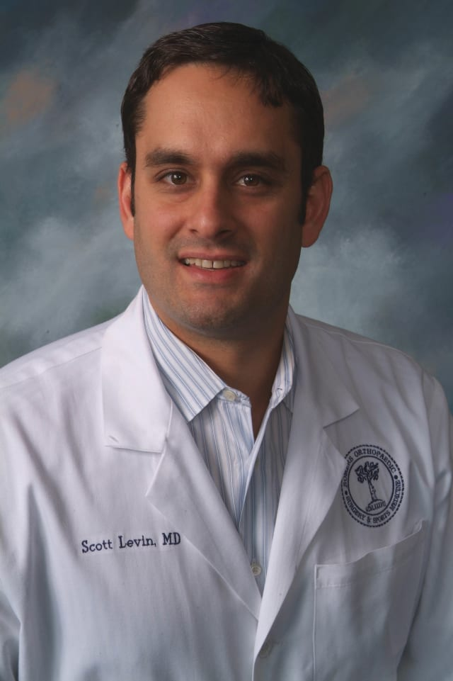 Dr. Scott Levin of Somers Orthopaedic Surgery offers yoga tips.