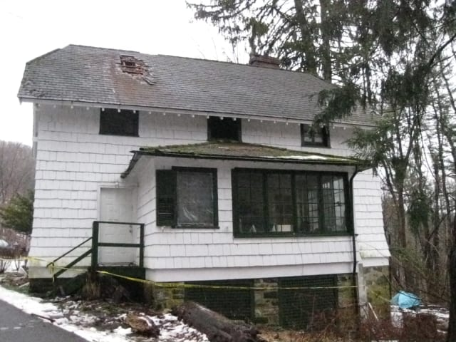 A house at 18 Nirta Road in Mount Kisco sustained second story damage after a fire last night.