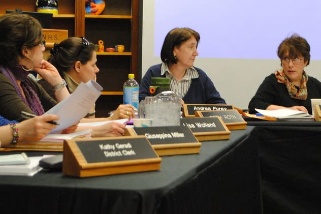Stay engaged this week with our list of what's going on. Pictured above, the Croton-Harmon Board of Education.