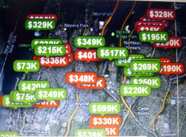 Home prices in Yonkers have been relatively stable in the past year, but still significantly lower than 2008.