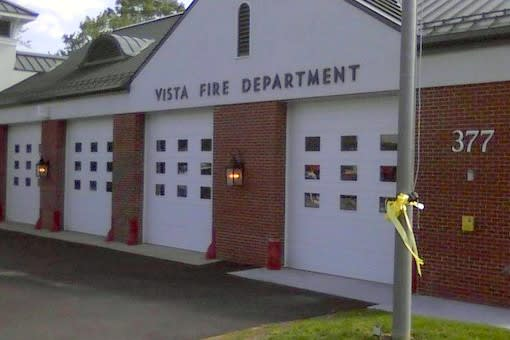 The Vista Fire Department responded to four calls last week.