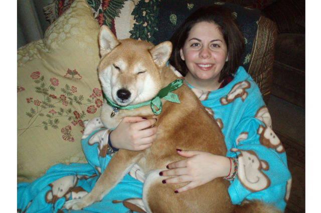 A portion of the Somers Dog Park will be dedicated to the late Dominique Silvestry, pictured here with Kitsuhi, her Shiba Inu.