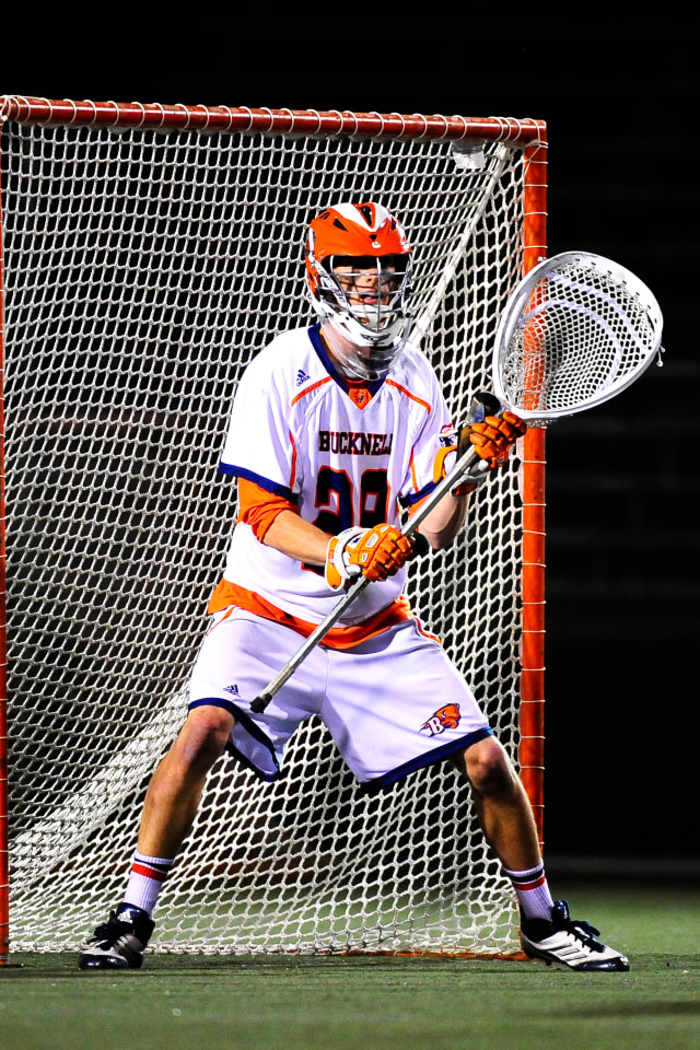 Greenwich's Kyle Feeney, a member of the lacrosse team at Bucknell University, was one of two goalies selected in the Major League Lacrosse Draft.