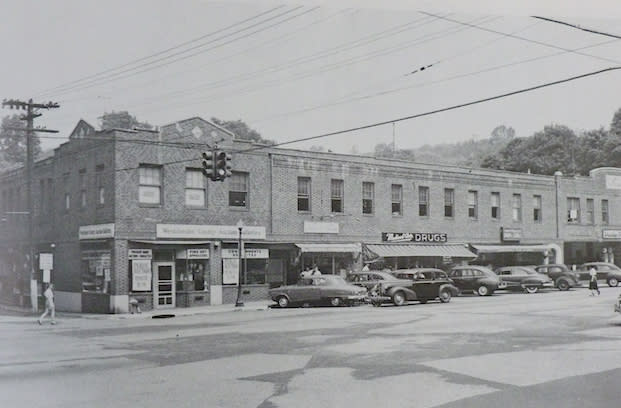 Greenburgh Town Hall once used this building on the corner of West Hartsdale and Central avenues in the 1950s. Do you know where the very first Greenburgh Town Hall was located?