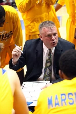 Monroe College men's basketball coach Jeff Brustad has a chance to win his 300th career game Thursday at home.