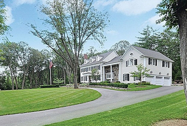 This Ridgefield home at Lee Road sold for almost $1.8 million.