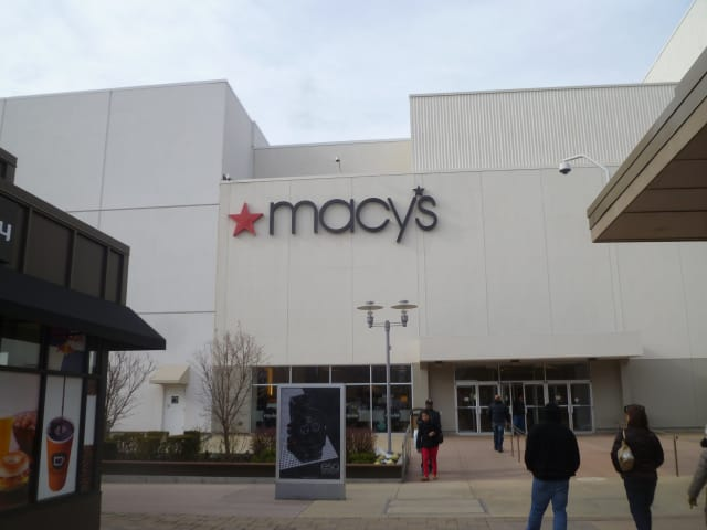 Macy's at the Cross County Shopping Center was reopened Sunday after being evacuated Saturday due to an escalator fire.