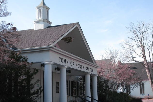 The town of North Castle is considering leaving the Association of Towns of New York.