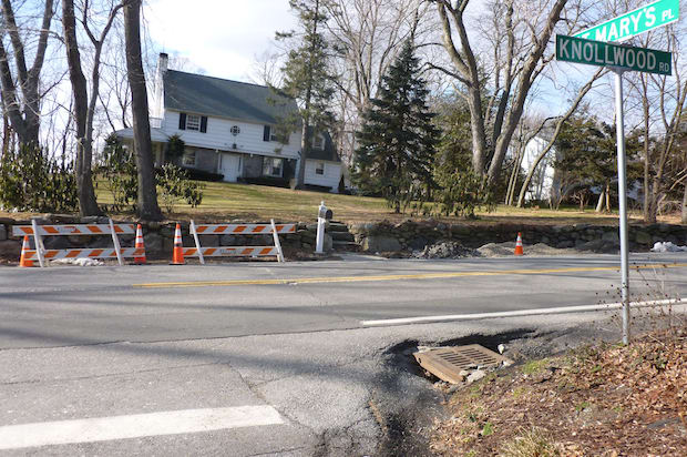 Con Edison is estimating roadwork for a gas main repair on Knollwood Road in Greenburgh to be completed by Thursday.