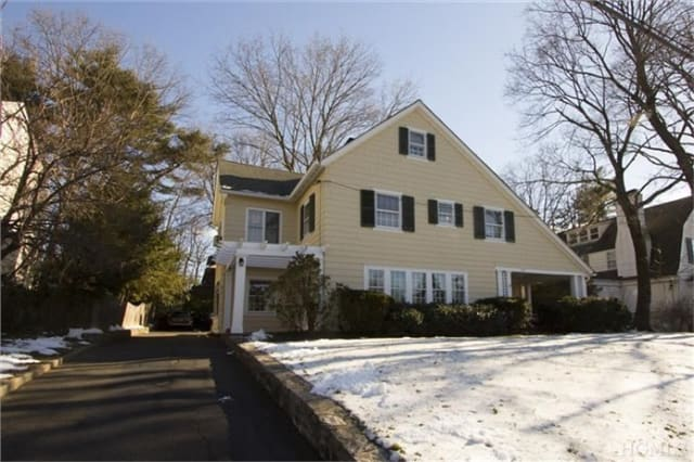 This home on Brite Avenue in Scarsdale will be shown this weekend.