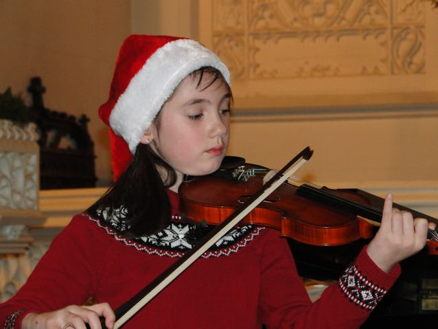 Christina Ferrari, 10, raised $1,150 for the Music Conservatory of Westchseter.