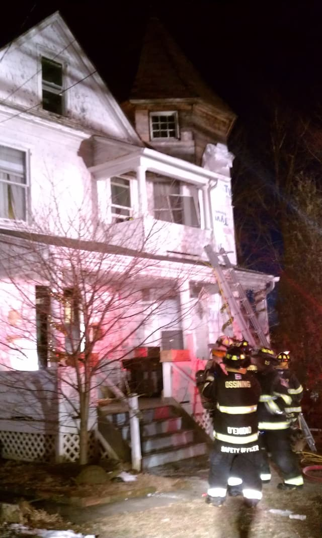 Ossining firefighters reported to a fire Tuesday.