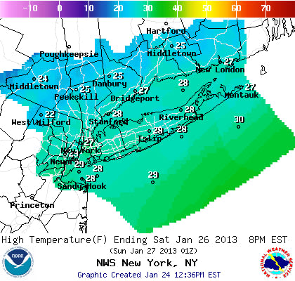 Saturday will be cold and windy across Westchester County.
