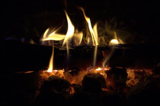 Many fires will be lit in Harrison households to keep warm this weekend.