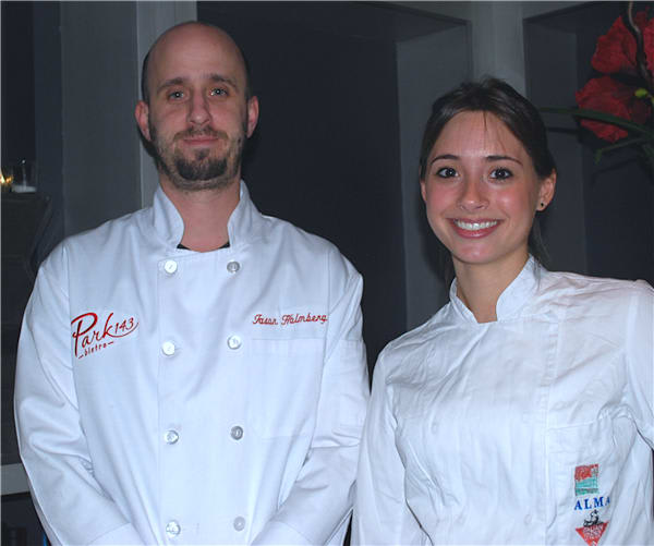 Park 143 Bistro Executive chef Jason Holmberg and guest chef Dalila Darsy Namy will prepare a five-course Italian dinner Wednesday.