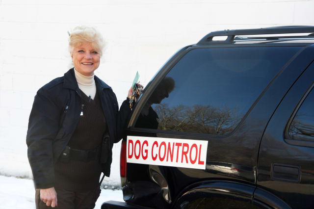 Helga Stanton has been Somers Dog Control Officer for nearly 17 years.