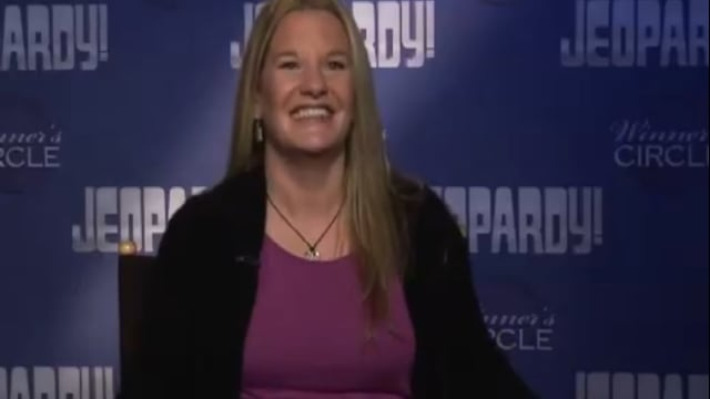 Yonkers Barbara Sheridan was a one-day champion on Jeopardy!, taking home nearly $18,000.