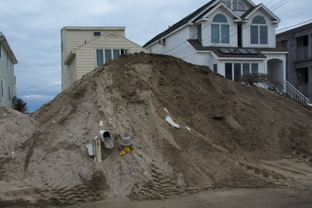 Fairfield will bring in tons of sand to replenish the amount lost on town-owned beaches during Hurricane Sandy for one of the projects approved Monday night.