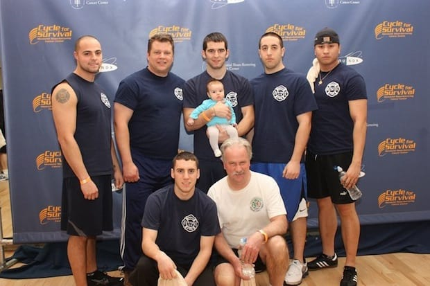 Members of the Greenville Fire District will participate in Cycle for Survival for the third consecutive year.