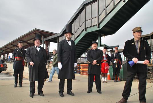 Abraham Lincoln will return to Peekskill via train on Saturday, Feb. 9, at 11 a.m.