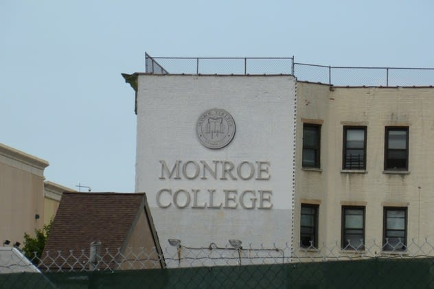 Monroe College in New Rochelle proposes to build a new six-story dorm at its Main Street campus.
