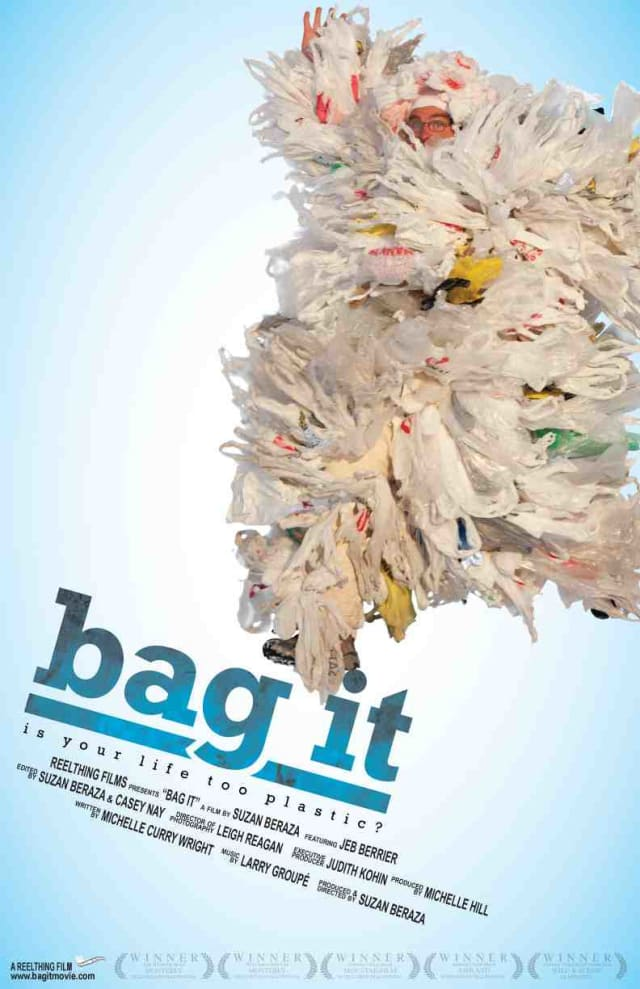 "The documentary ""Bag It"" will kick off the Lewisboro Library's film series on Friday night."