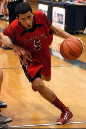 Peekskill High School boys' basketball player Jay Cabell is The Peekskill Daily Voice Athlete of the Month for January.