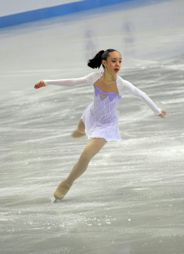 Redding's Brooklee Han, a senior at Joel Barlow High School, is competing at high level international competitions over the next few months. She is a candidate to represent Australia in the 2014 Winter Olympics.