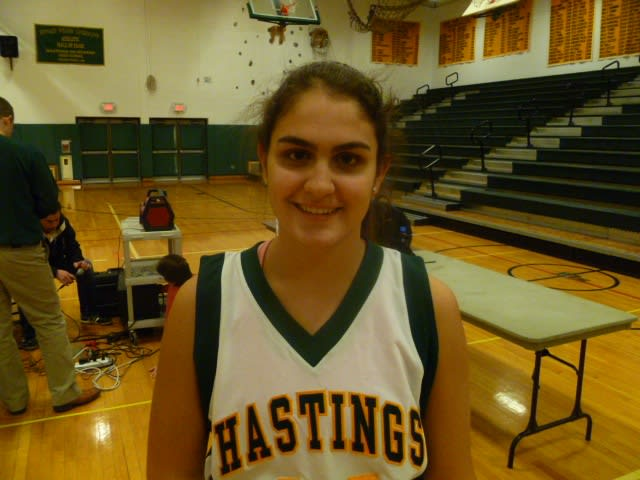 Hastings basketball player Nicole Neto has been named Daily Voice Athlete of the Month.