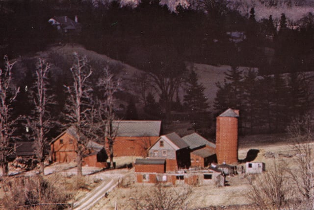 """The New Castle Historical Society's new """"Founding Farms"""" exhibit traces the town's origins back to farms such as the Sutton Farm, which is seen here."""