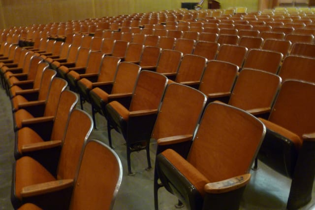 The New Canaan Board of Education hopes to keep money for a Saxe Middle School auditorium study in its 2013-14 budget.