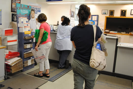 Post offices that are now open on Saturday will continue that service, the postal service said.