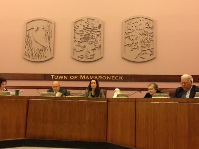The Town of Mamaroneck Board approved an additional $250,000 to repair a pipe that burst last year.