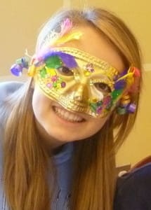 Kids will be able to make Mardi Gras masks at the White Plains Library children's room from 4:30 to 5 p.m. Monday.