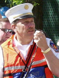 Deputy Chief William Delanoy served as a White Plains firefighter for 35 years.