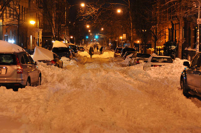 At least a foot of snow is predicted to fall on Yonkers with the arrival of Winter Storm Nemo.
