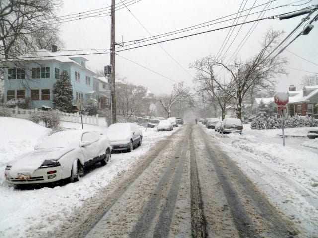 Winter Storm Nemo left a mess in Yonkers Friday, and forecasters said conditions would only get worse overnight.