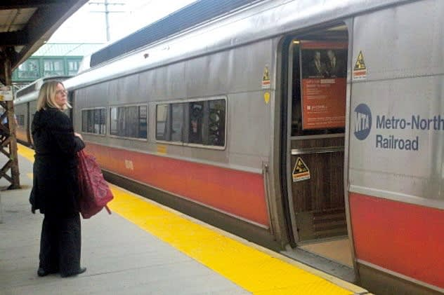 Metro-North will run limited service starting at 8 p.m. Friday until the line closes at 1 a.m.
