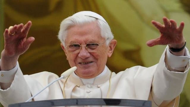 Pope Benedict XVI will step down at the end of February after eight years.
