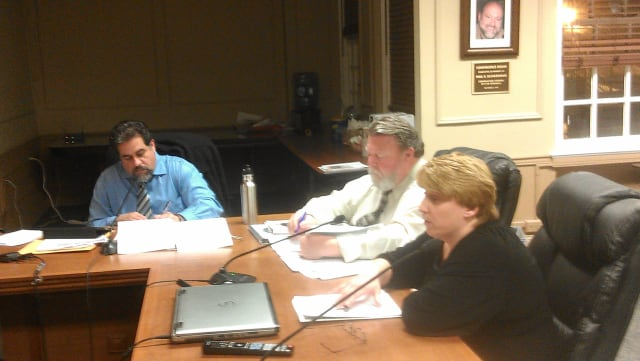 Peekskill Recreation Department Manager Joyce Cuccia discusses Kiley Center fees with the Common Council on Monday night.