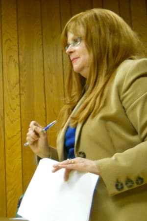 New Castle Town Administrator Penny Paderewski said accidental robocalls left New Castle residents confused last weekend.