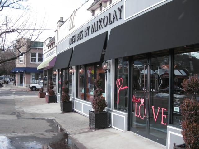 Desires by Mikolay, located at 55 King Street, is offering 10 percent off all purchases through Feb. 14.