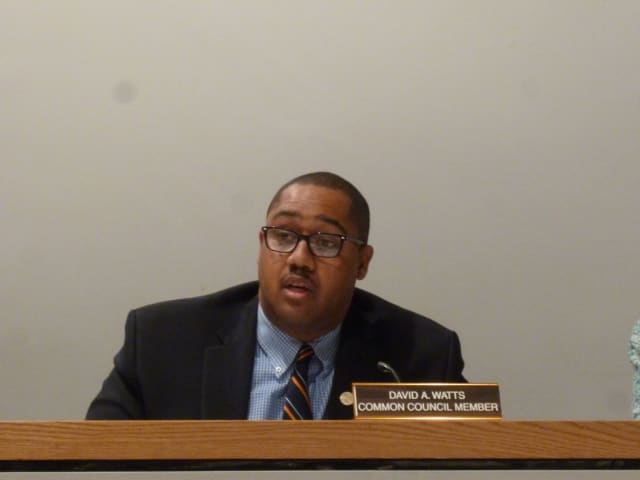 Norwalk Common Councilman David Watts is one of an overwhelming majority of council members who supported an improvement project for the Washington Village housing complex.
