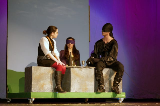 The North Salem High School Drama Club presents the 'The Princess Bride' Friday night.