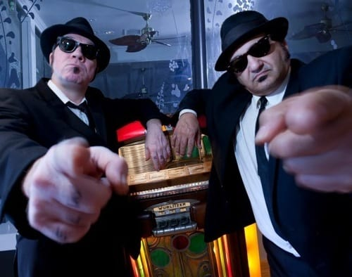 The Blues Brothers Revue is coming Saturday to the Ridgefield Playhouse.