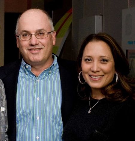 Richest man in Connecticut is Steven Cohen, 55, of Greenwich, worth more than $8 billion. Cohen's wife, Alexandra, is at right.