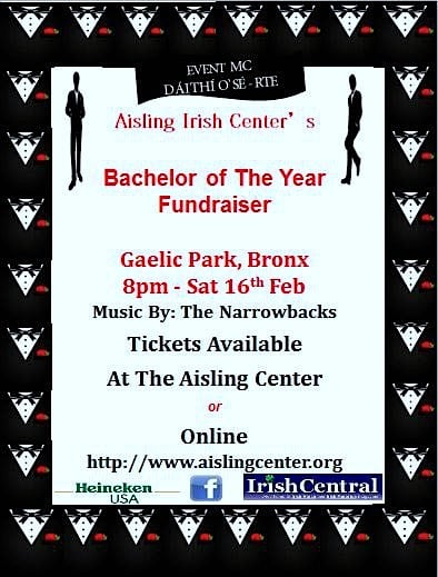 Irish personality Daithi O'Se is traveling from Ireland to be part of the Yonkers' Aisling Irish Community Center's fundraiser.