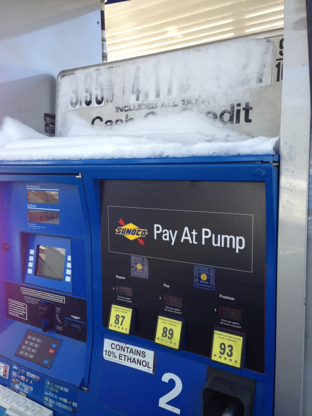 The average price for a gallon of gas in Connecticut has risen nearly 30 cents in the last month, GasBuddy says.